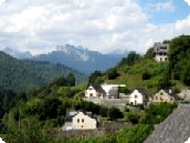 Fontaines d'Escot - Pyrenean houses.